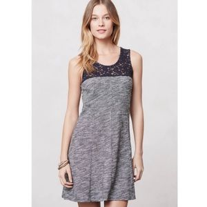 Anthropologie Lilka Esme Space Dye Lace Dress